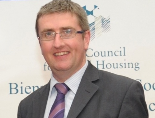 Dr. Donal McManus, CEO of ICSH