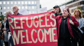 Sweden has received in 2015 many asylum seekers