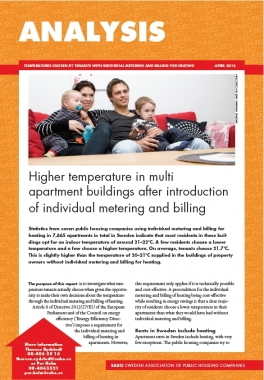 Temperatures rise following introduction of individual metering and billing for heating
