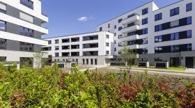 "The housing project ""Treskow-Höfe"" (""Treskow courts"") of HOWOGE, a Berlin municipal housing company, is one of the most modern residential districts in Germany and was awarded for its sustainability."