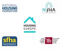 Four British Housing Federations Meeting