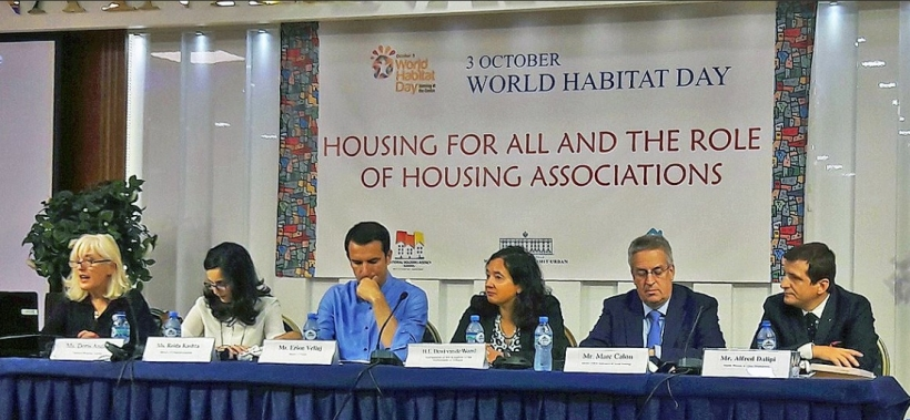 Housing Europe President, Marc Calon on the panel