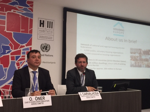 The Housing Europe Delegation at Habitat III