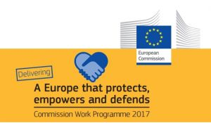 European Commission Work Programme in 2017