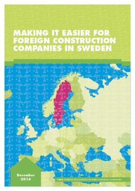 How Sweden can make things easier for foreign construction companies