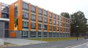 Dutch container houses as interim housing