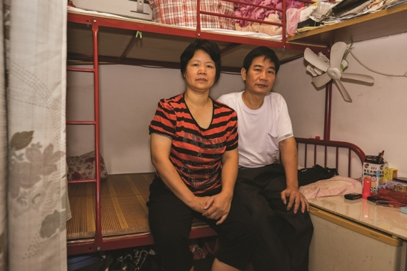 Τhe tiny houses of Hong Kong