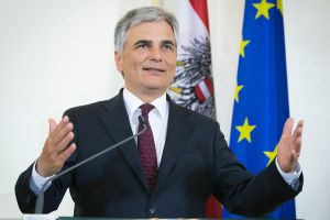 Former Austrian Chancellor, Werner Faymann visits Housing Europe