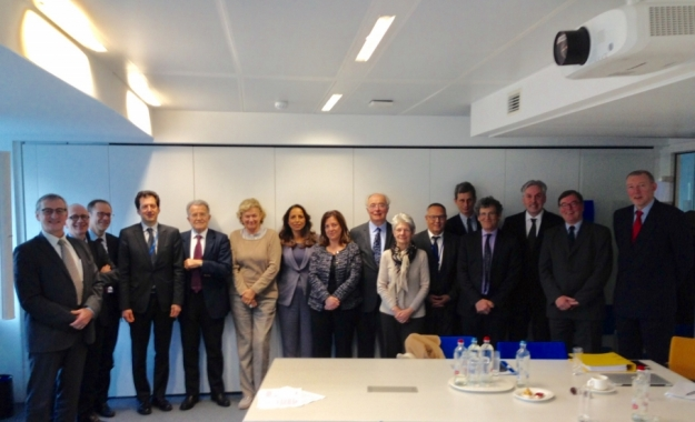 Picture from the launch meeting - Housing Europe will be joining the Task Force next meetings.