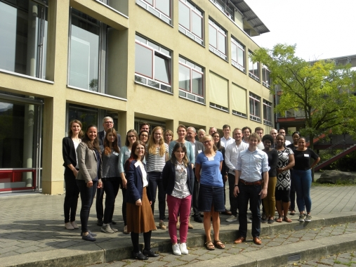 27 young professionals of the housing sector from 8 countries