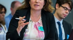 Housing Europe Secretary General, Sorcha Edwards contributed to the debate