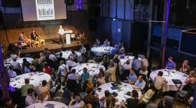 Panoramic picture from the annual conference 2017 in Amsterdam