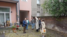 Study visit at houses renovated by SEG