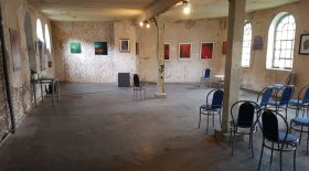 Empty space used by artists