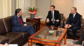 Housing Europe President and Head of CLDC meet Minister of Interior, Mr. Petrides