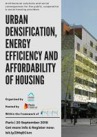 Urban densification, energy efficiency and affordability of housing