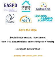 Social Infrastructure Investment: from local innovative ideas to InvestEU project funding