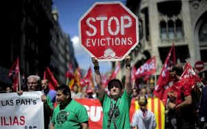 Citizen mobilization brings eviction cases to the European Court