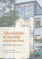 Affordability in housing construction