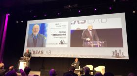 Frans Timmermans commits to a 'Big European Social Housing Programme, if he is elected European Commission President' at the CEPS Ideas Lab on 23 February in Madrid.