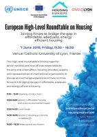 European High-level Roundtable on Housing