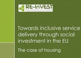 Making the case for housing as part of social investment