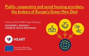 Public, cooperative and social housing providers, the brokers of Europe's Green New Deal