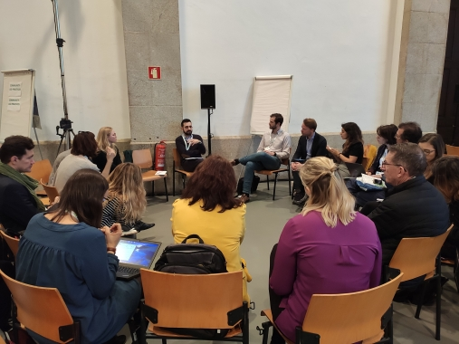 Housing Europe Communications Director, Michalis Goudis spoke at a UIA/URBACT session on municipal housing strategies