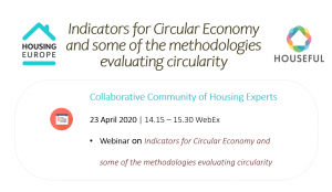 Indicators for Circular Economy and some of the methodologies evaluating circularity