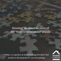 Housing: an essential piece of the 'Next Generation EU' puzzle
