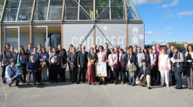 2012 European Social Housing Award winners, Team Rhone-Alpes with their CANOPEA Project