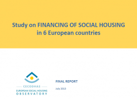 Financing of Social Housing