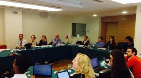 At the partners' meeting in Athens