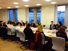 New MEPs briefed on key housing topics